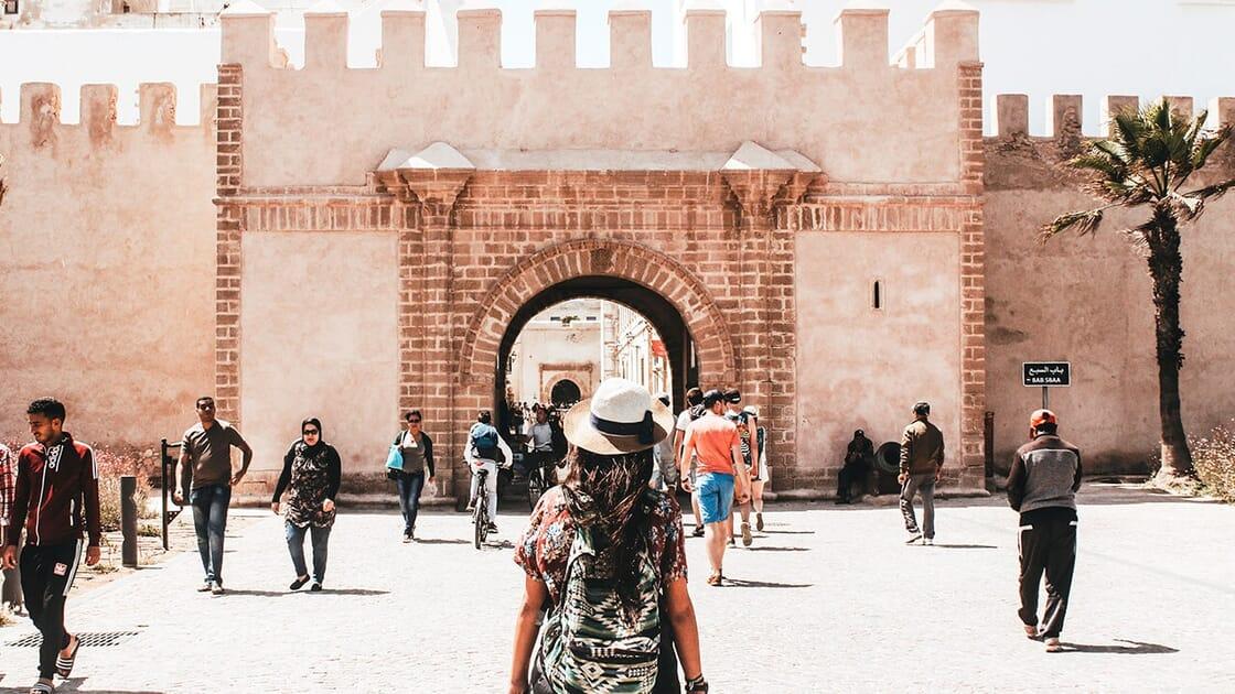 muralla ciudad Marruecos