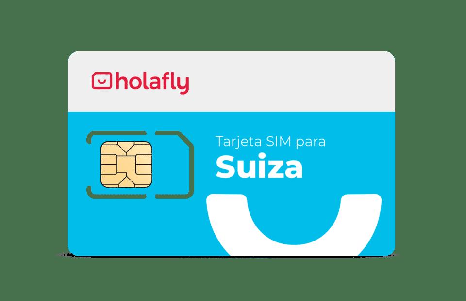 Internet con tarjeta SIM Suiza de Holafly