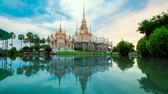 Templo de Wat Lan Boon, tailandia