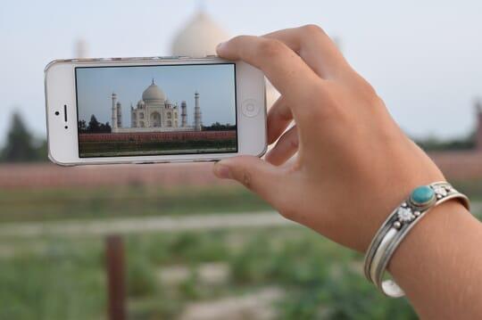 foto Taj Mahal