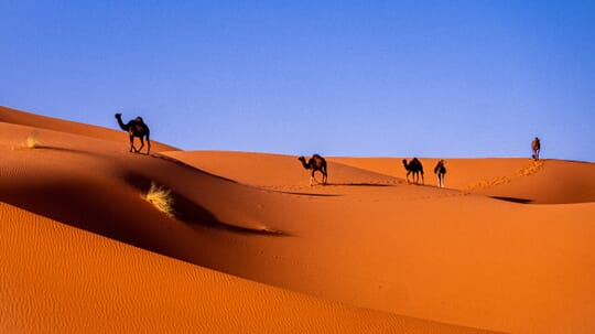 Merzouga, Marruecos.
