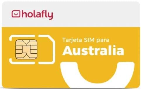 Tarjeta SIM prepago para Australia