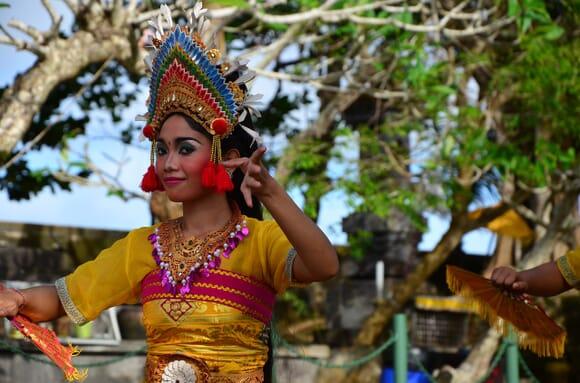Danza ritual bali
